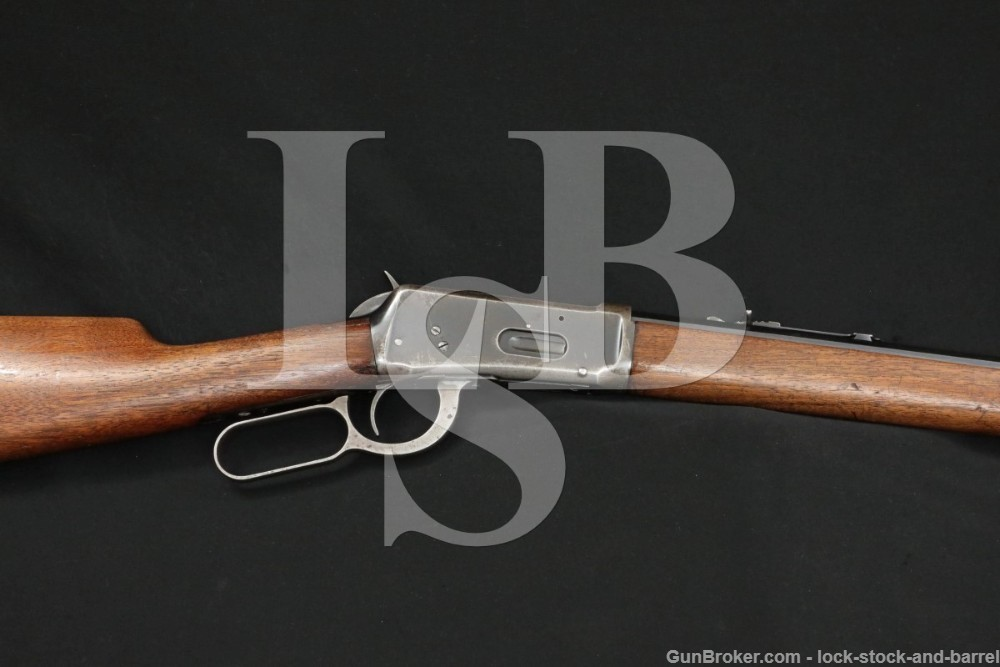 """Winchester Pre-64 1894 94 26"""" .25-35 WCF Lever Action Rifle, MFD 1919 C&R"""