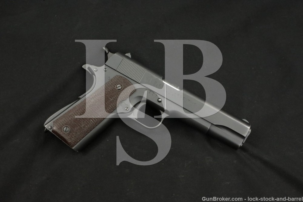 Argentine Model 1927 Hartford Colt 1911 .45 ACP Semi-Auto Pistol, 1927 C&R