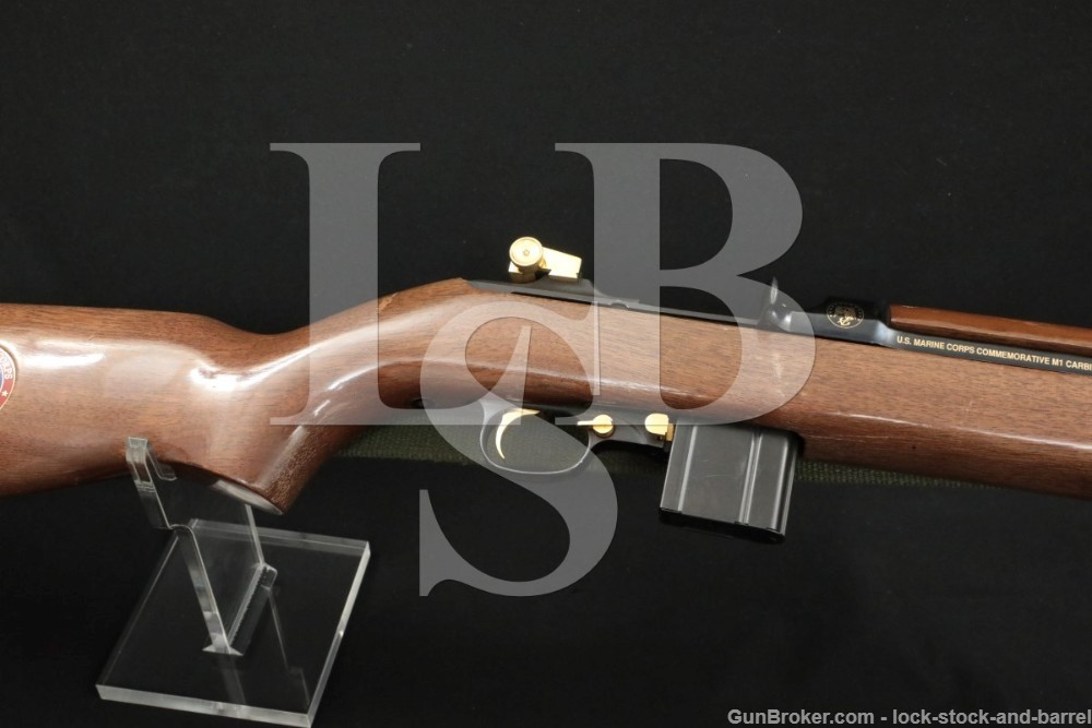 Auto Ord M1 Carbine Marine Corps Commemorative .30 Semi Auto Rifle