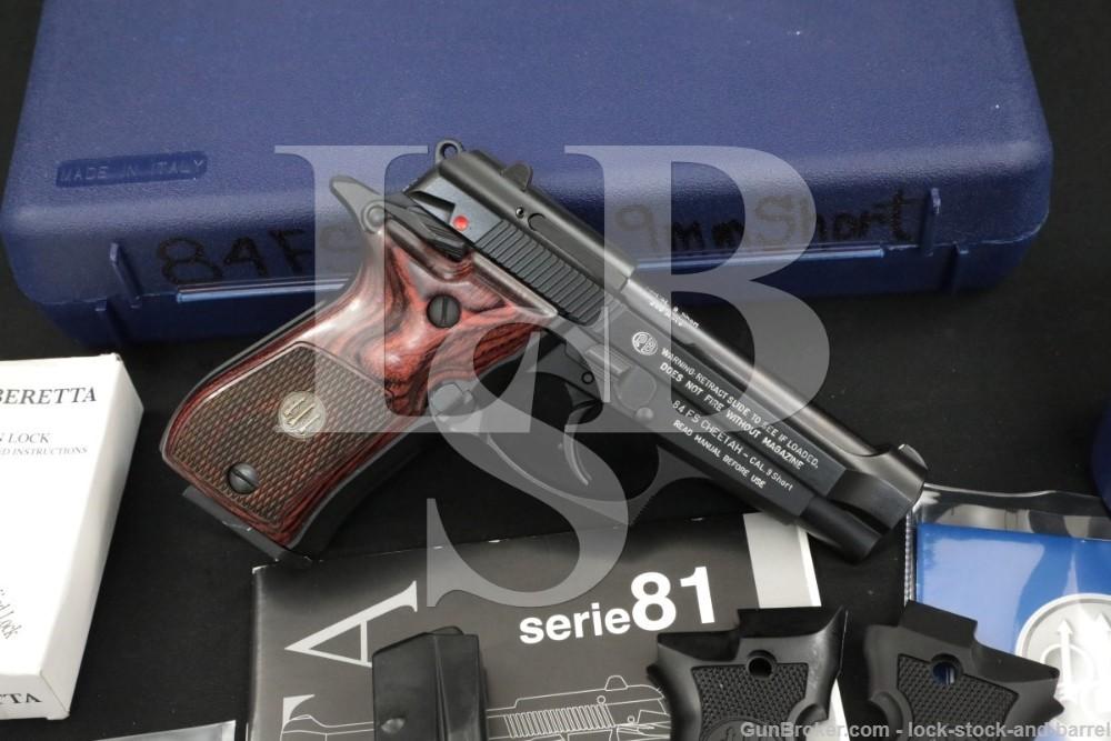 Beretta 84 FS Cheetah .380 ACP Semiauto SA/DA Pistol MFD 2016 w/ Box