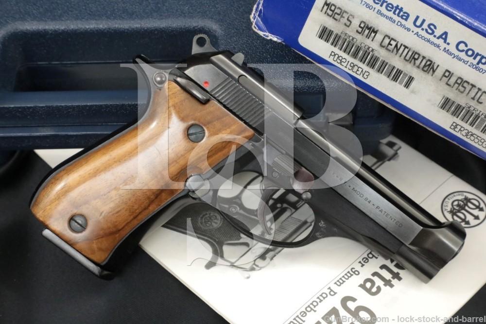 Beretta Model 84 M84 .380 ACP 9mm Short Double Action Semi-Auto Pistol 1978