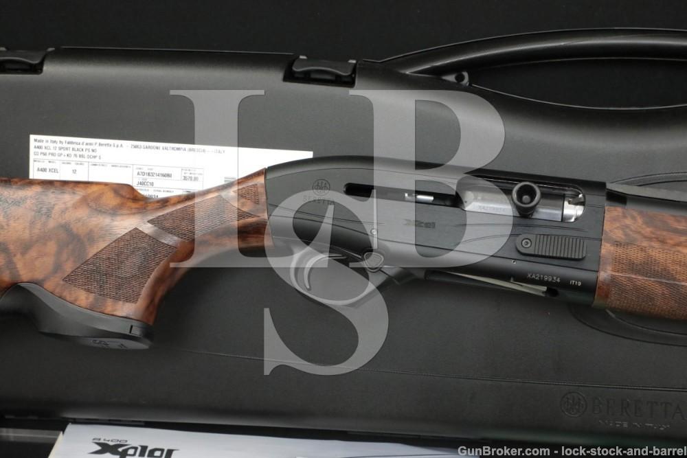 Beretta Model A400 Xcel Sporting Black Edition 12 GA 30″ Semi-Auto Shotgun