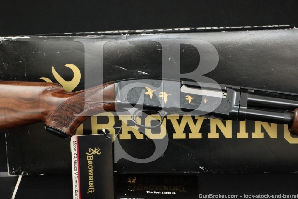 Browning Limited Model 42 Like Winchester High Grade V .410 Pump Shotgun