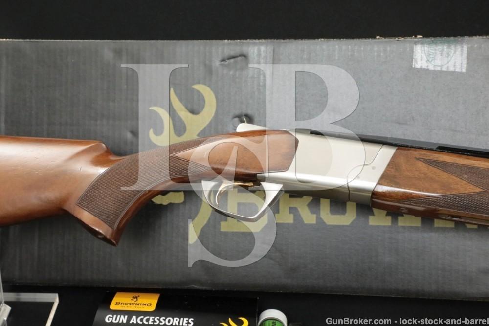 "Browning Miroku Model Cynergy 12 GA 28"" Double Barrel O/U Shotgun, MFD 2007"