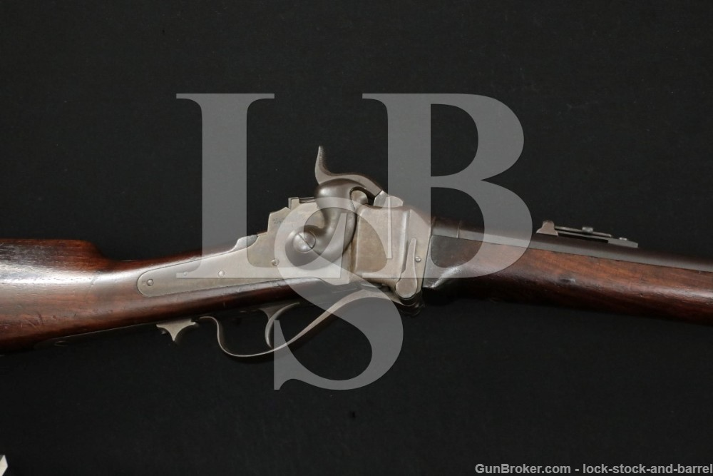 C. Sharps .50-70 Gov't M1867 Carbine Conversion Rifle MFD 1863-1865 Antique