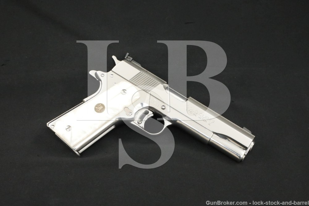 Colt Gold Cup National Match Ultimate Bright Stainless 1911, 1992 ATF C&R