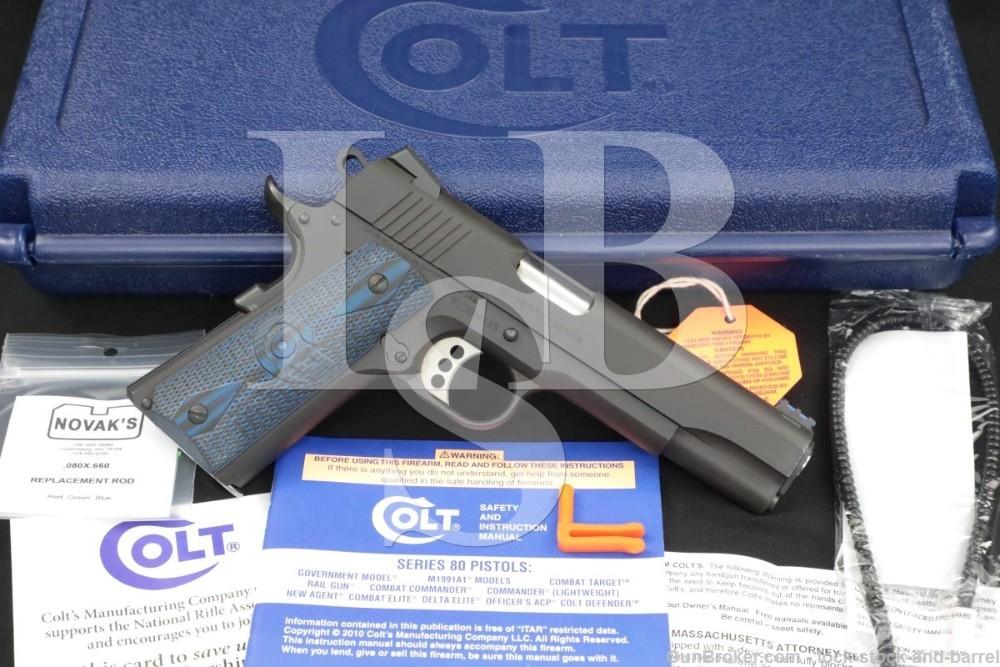 Colt Goverment Model Competition Series 1911 O1982CCS 9mm Semi-Auto Pistol