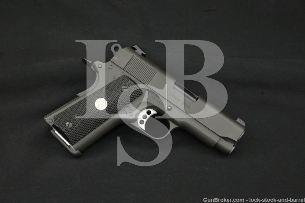 Colt M1991A1 Compact Model Officers 1911 .45 ACP Semi-Automatic Pistol 1993