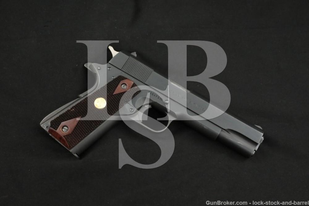 Colt MK IV Series '70 Government 1911 .45 ACP Semi-Automatic Pistol, 1980