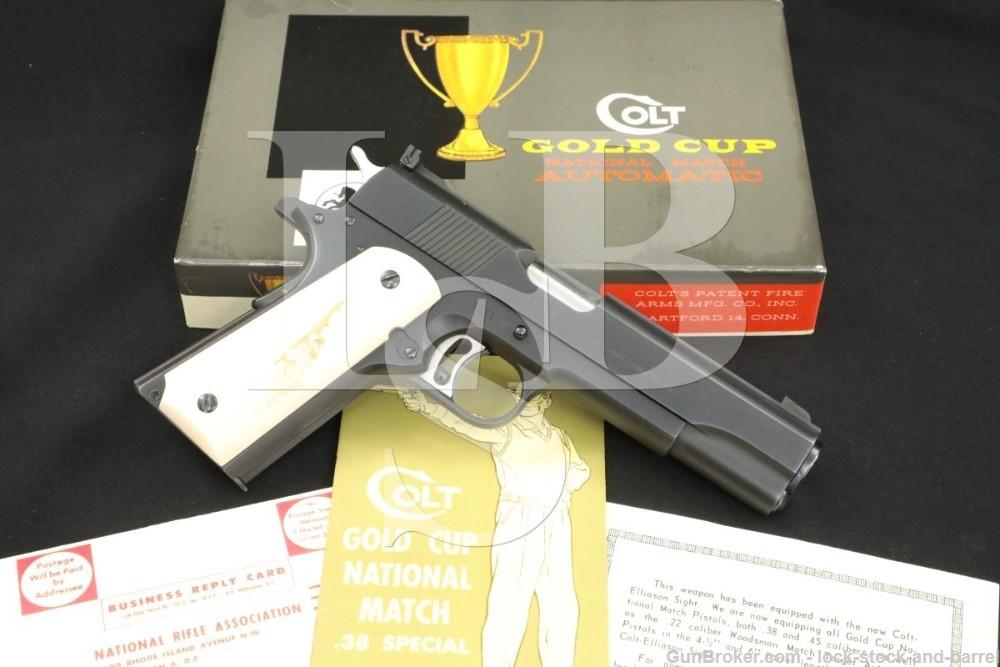Colt Pre-Gold Cup National Match 1911 .45 ACP Semi-Auto Pistol, 1960 C&R
