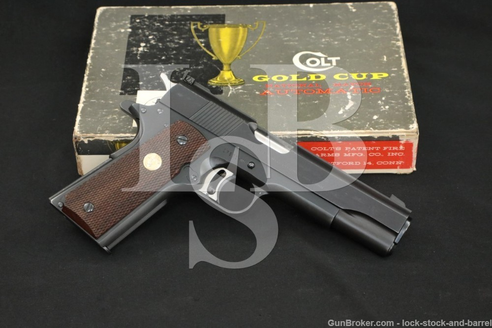 Colt Pre-Gold Cup National Match 1911 .45 ACP Semi-Auto Pistol, 1966 C&R