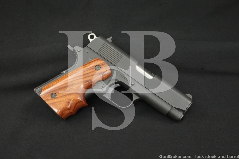 Colt Series 80 Officer's ACP Compact 1911 .45 Semi-Automatic Pistol, 1985