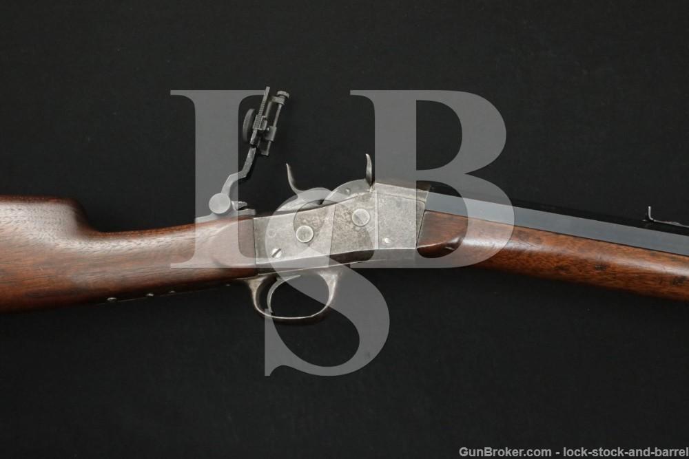 Custom Remington Rolling Block No. 1 .45-70 Govt. Single Shot Rifle Antique