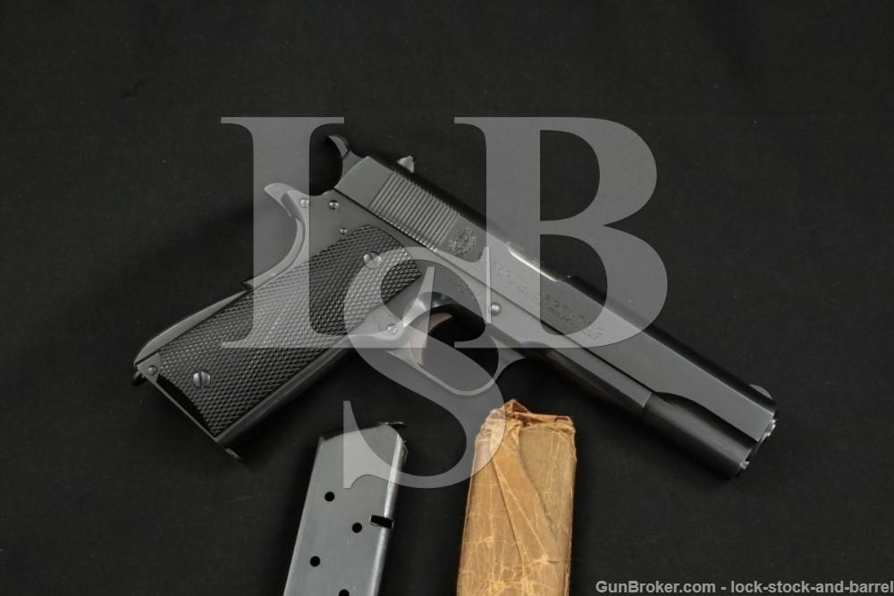 DGFM-FMAP Argentine 1911 Sistema Colt 1927 #s Match .45 ACP Pistol 1948 C&R