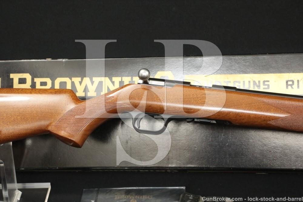 "FN Browning Model T-Bolt .22 LR 24"" Boxed Bolt Action Rifle, MFD 1967 C&R"