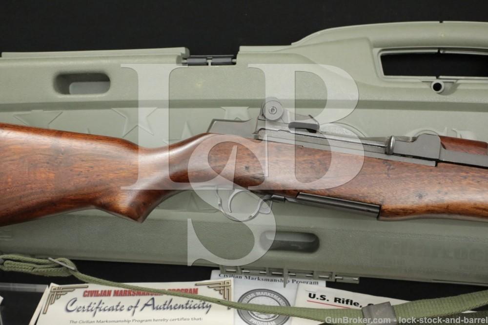 H&R M1 Garand .30-06 CMP Hard Case Semi Automatic Rifle 1954 C&R