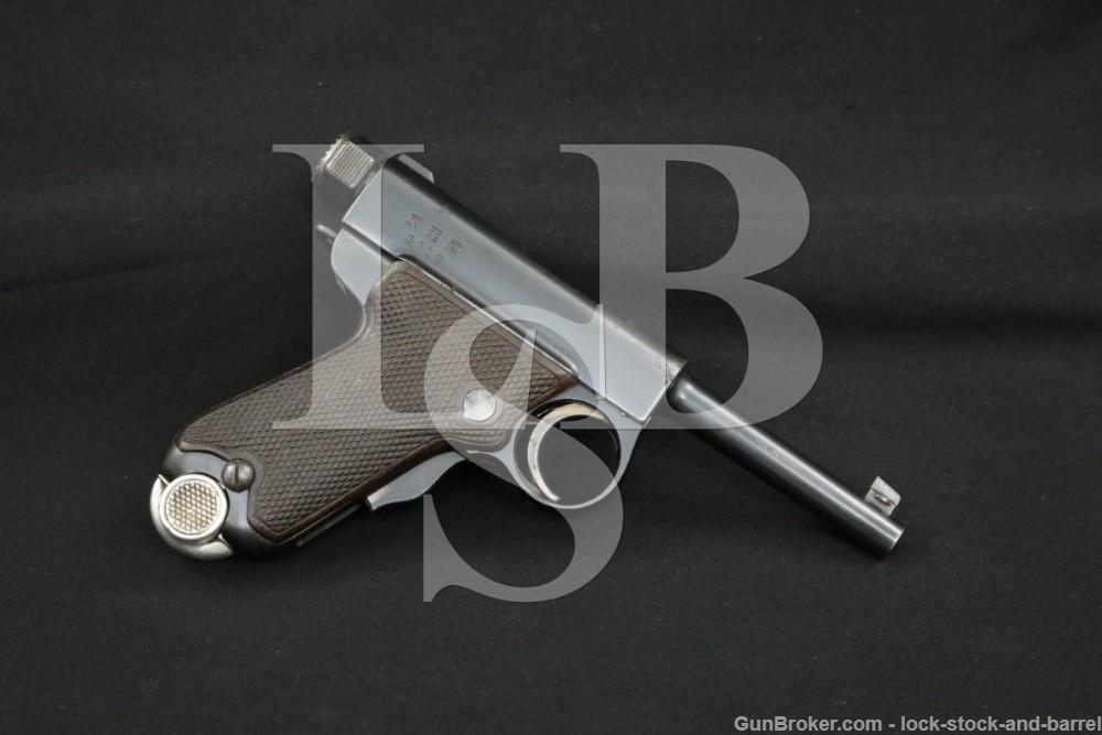 "Japanese Tokyo Artillery Arsenal Nambu Automatic Pistol Type B ""Baby"", C&R"