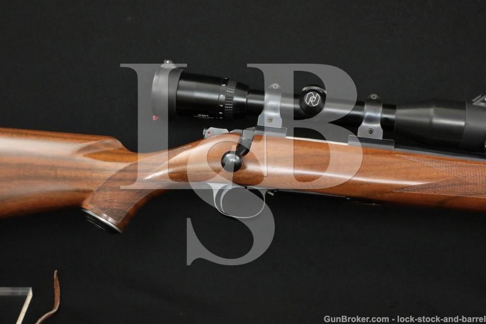 Kimber of Oregon Model 84 .223 Rem 22″ Bolt Action Rifle & Zeiss Scope