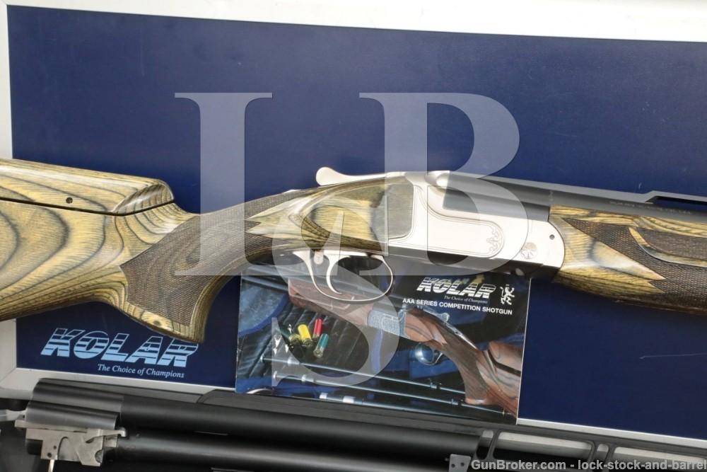 Kolar Arms Max Skeet 2 Barrel Set 12 GA Over Under & Un-Single Shotgun