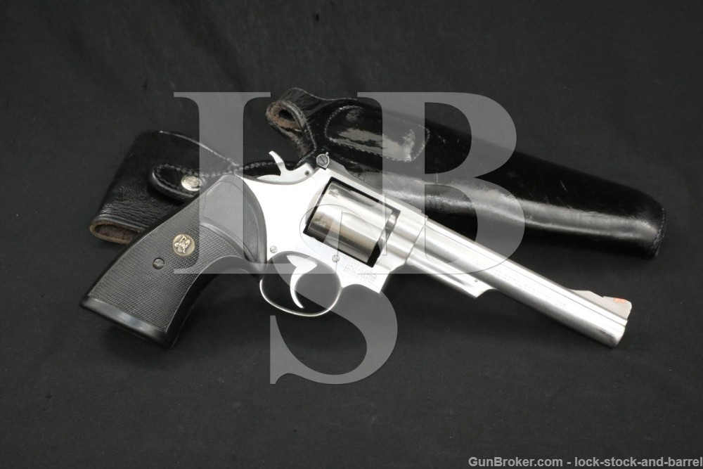 """LAPD Smith & Wesson S&W Model 68-2 .38 Spl 6"""" Double Action Only Revolver"""
