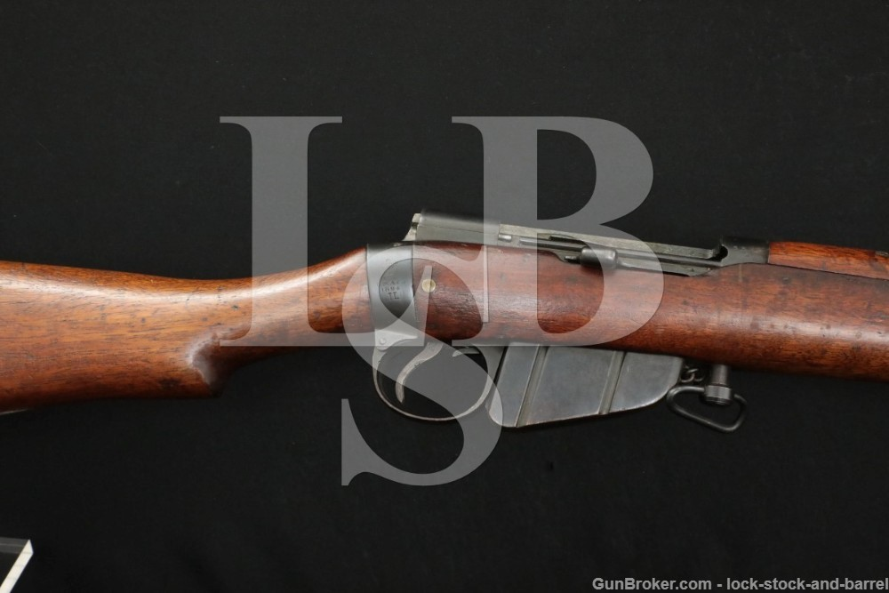 Lee-Metford MkII .303 British So Africa Enfield Bolt Action Rifle Antique