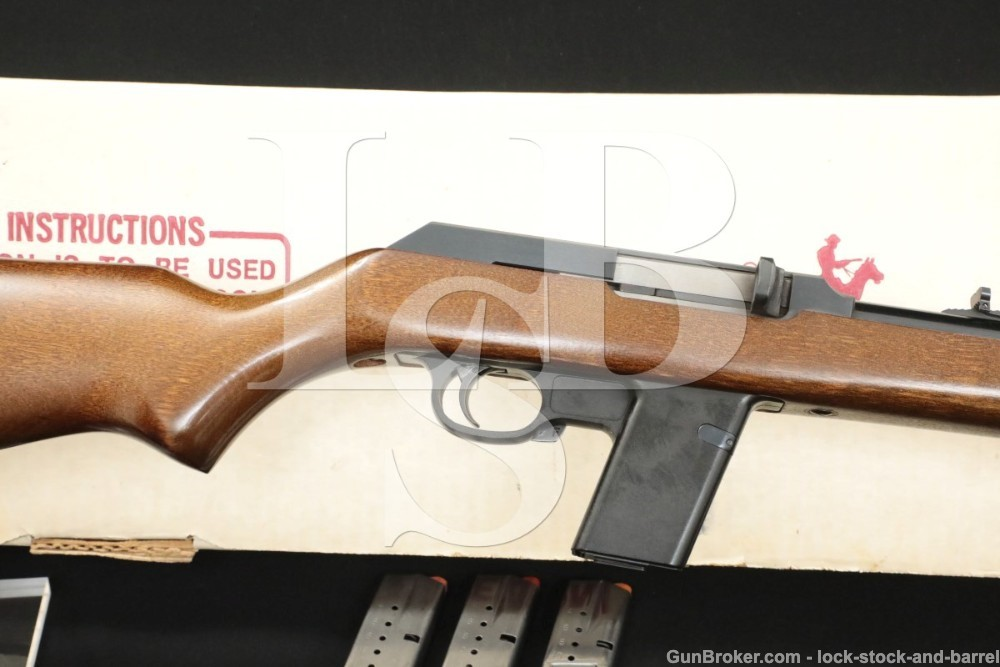 "Marlin Model 9 ""Camp Guard"" 9mm 16.5″ Semi-Automatic Rifle MFD 1989"