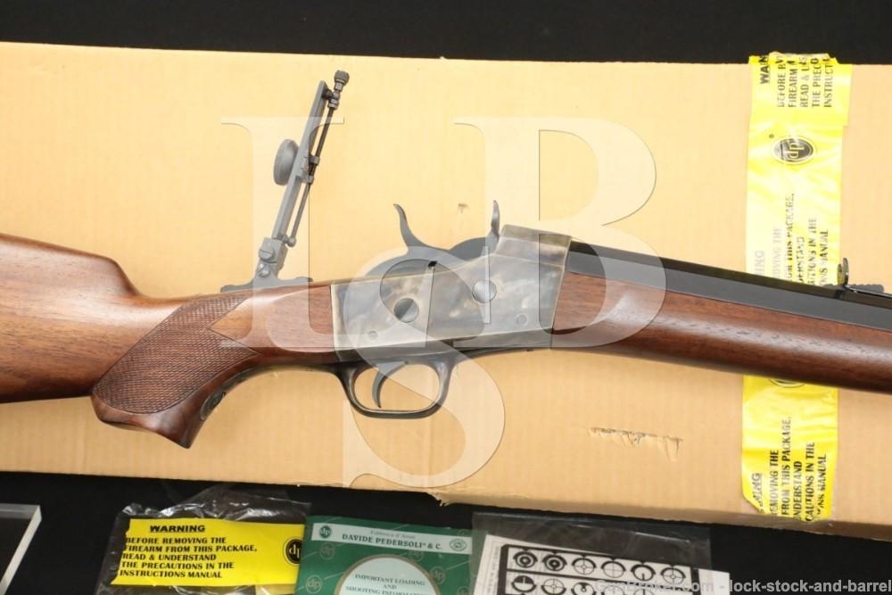 "Pedersoli Creedmoor 30"" .45-70 Govt Like Remington Rolling-Block Rifle 2001"