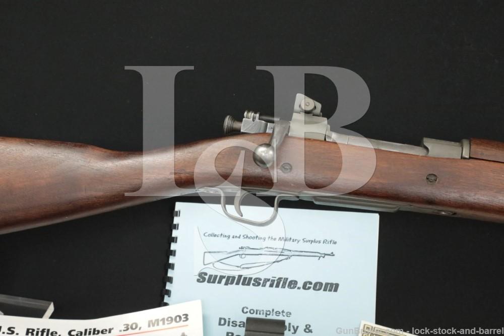 Remington Model 03A3 1903A3 .30-06 Sprg WWII Bolt Action Rifle MFD 1943 C&R