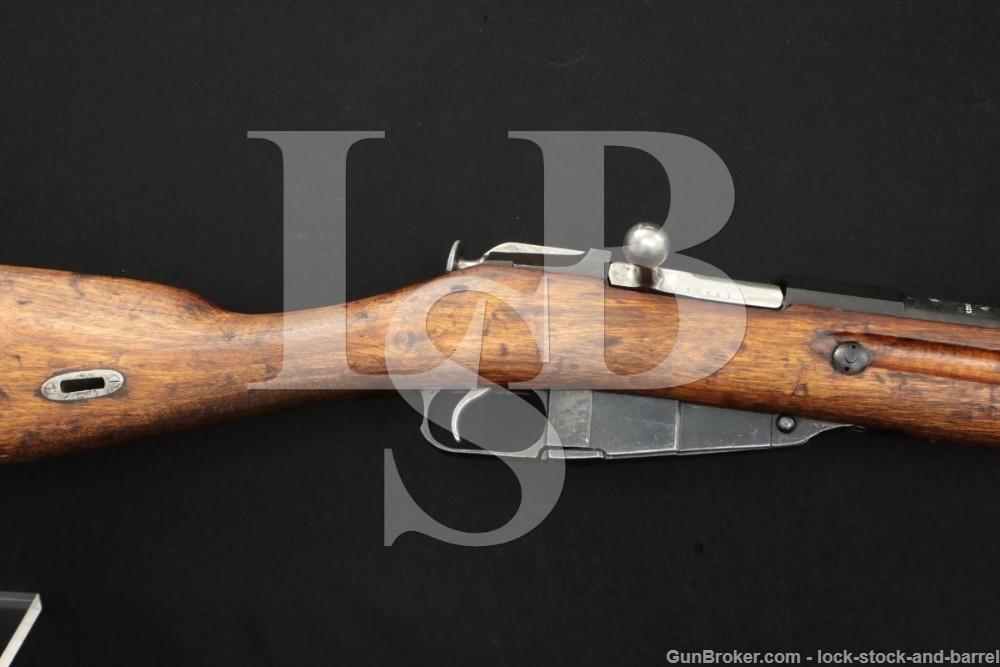 Russian Mosin Nagant 1891 Finn M91 7.62x54R Bolt Action Hex Rifle Antique