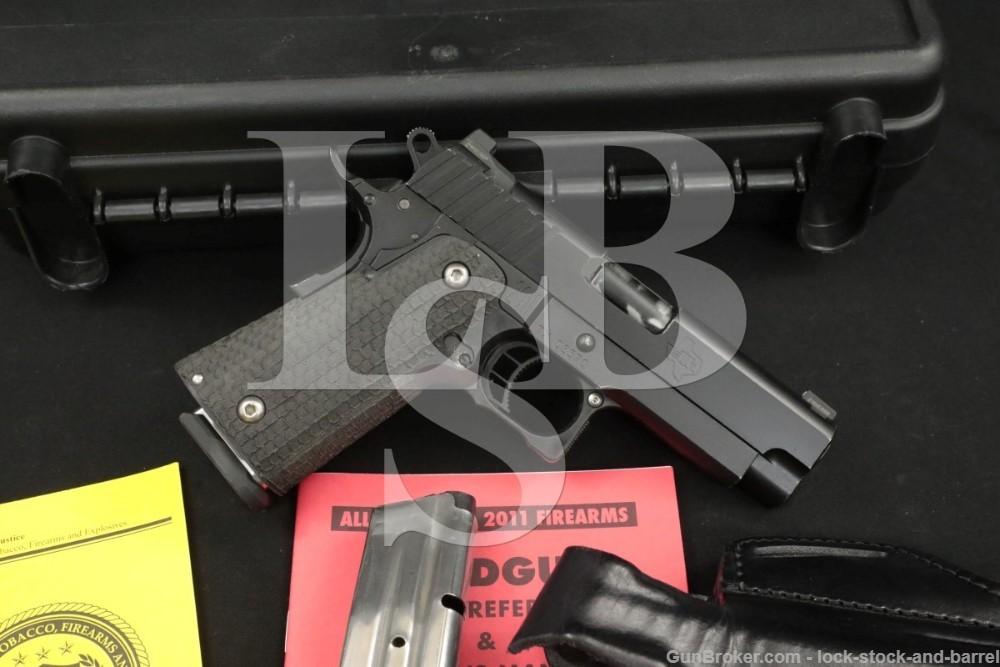 "STI International Model Guardian 9mm 3.9"" 2011 Semi-Automatic Pistol"