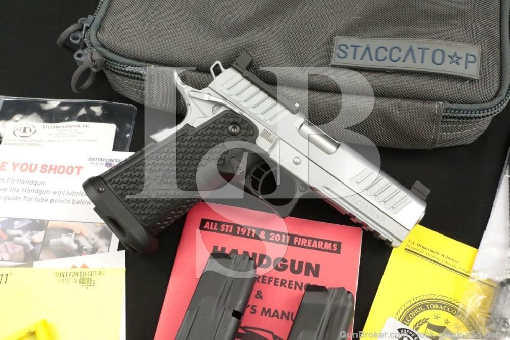 STI International Model Staccato P DUO 9mm 4.25″ Semi-Automatic Pistol