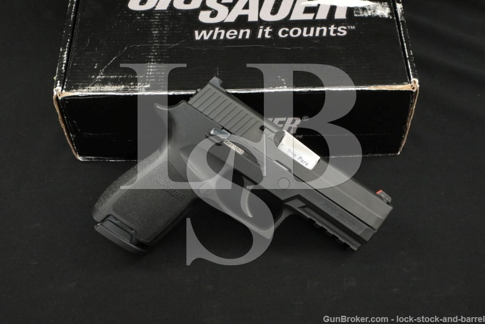Sig Sauer Model P250 Compact P250C 9mm 3.9″ DAO Double Action Only Pistol