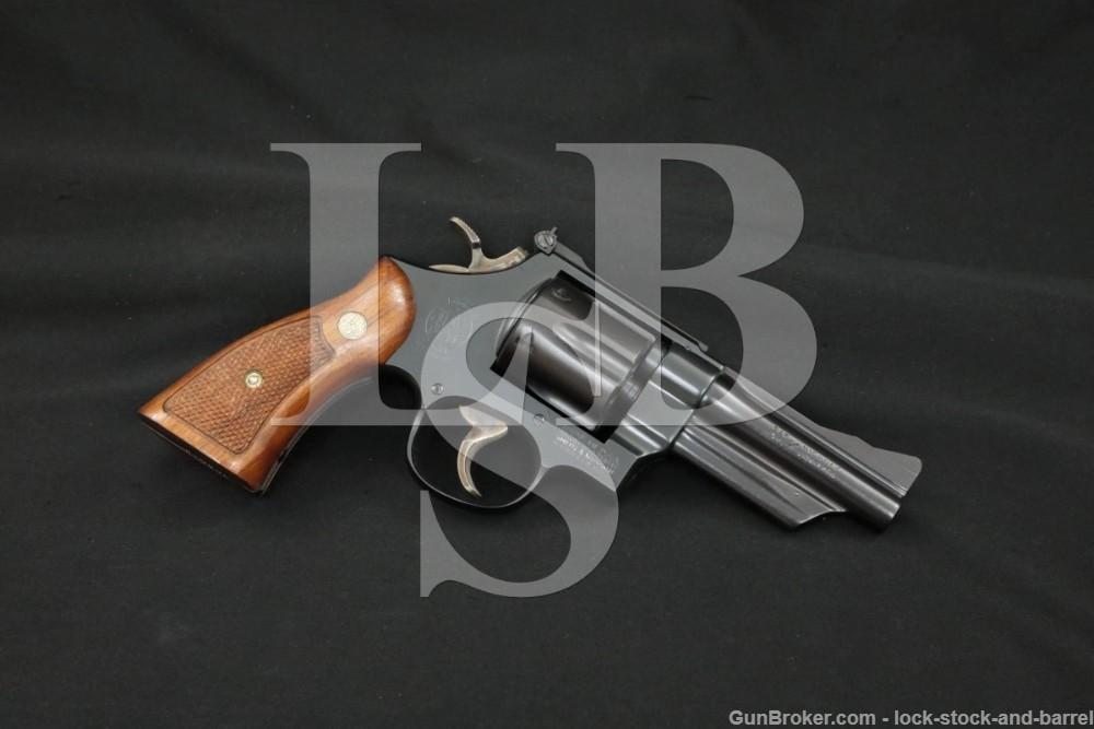 Smith & Wesson S&W Model 28-2 Highway Patrolman .357 Mag 4″ Revolver 1972