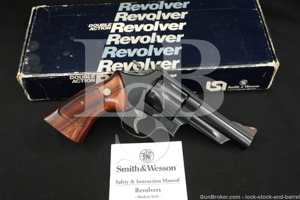 "Smith & Wesson S&W Model 29-3 .44 Magnum 4"" DA/SA Revolver MFD 1986"