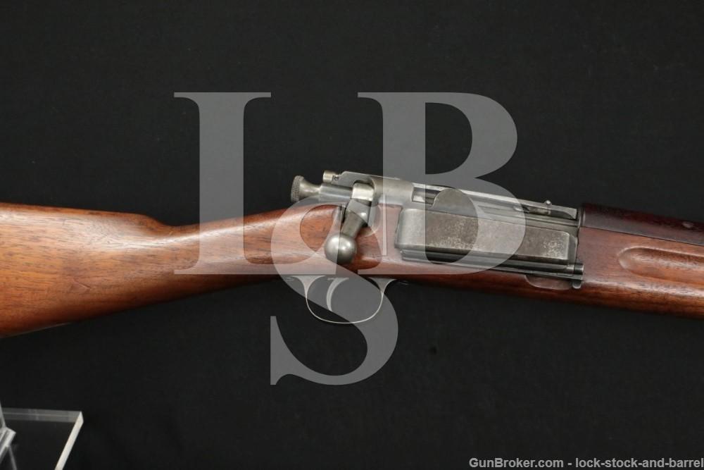 Springfield 1892 Krag .30-40 Bolt Action Rifle MFD 1895 Antique