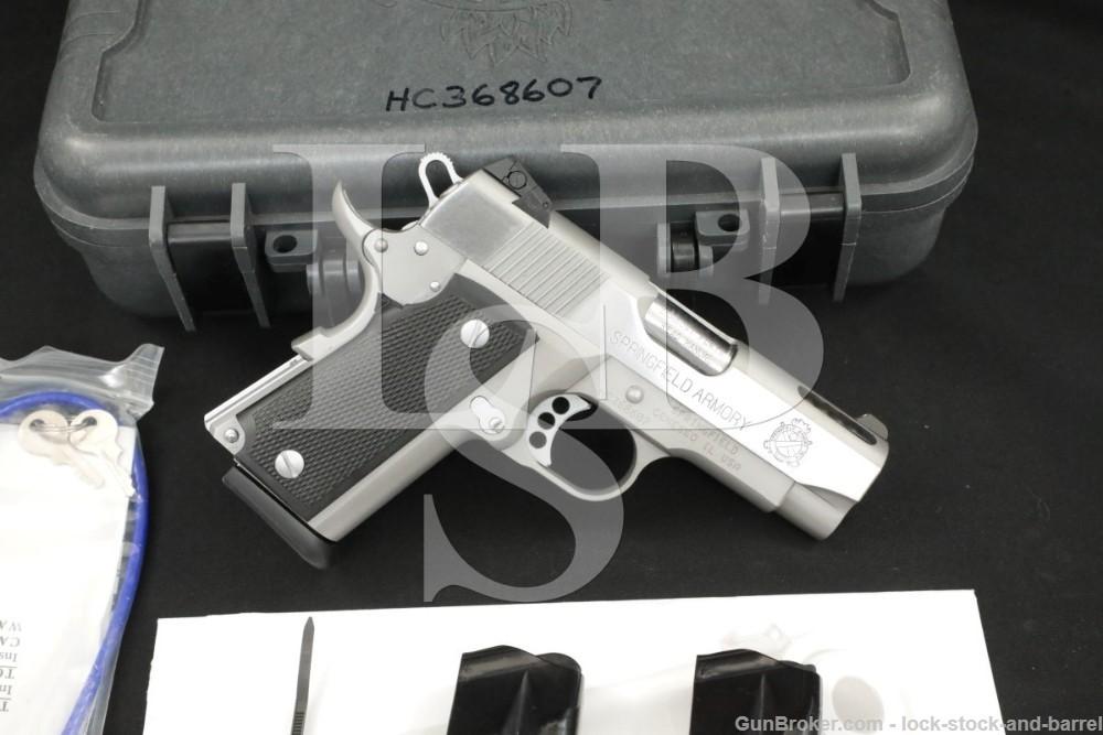 "Springfield Armory Model V-10 Ultra Compact .45 ACP 3.5"" Ported 2011 Pistol"