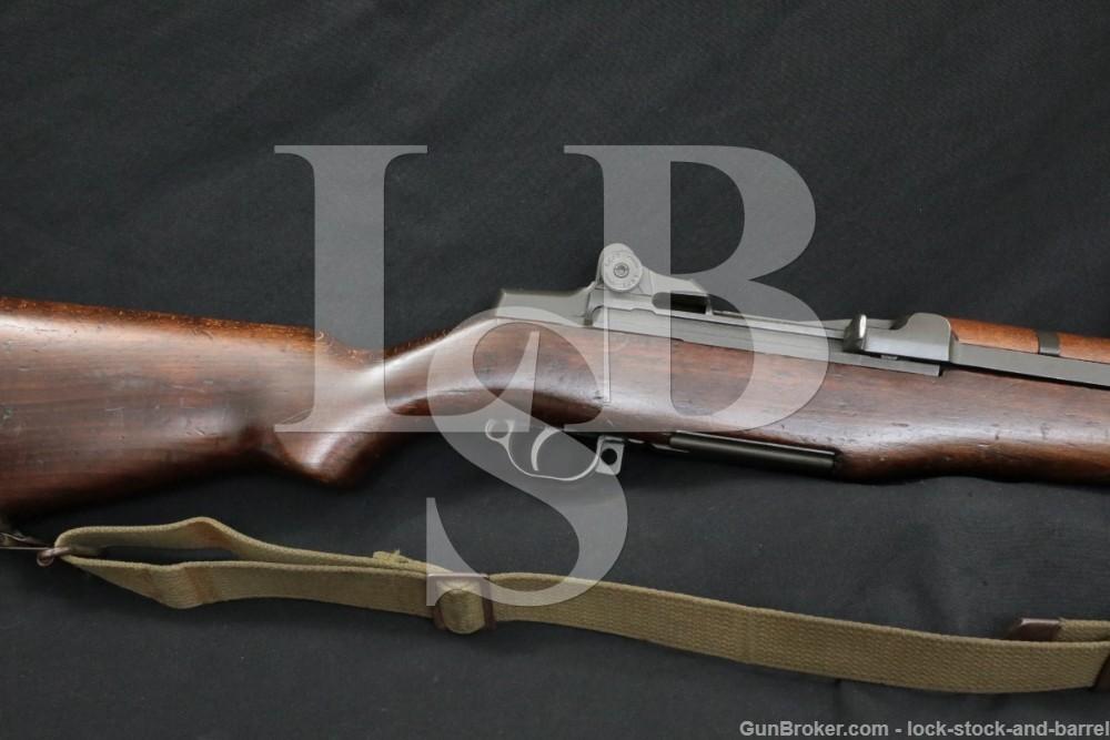 Springfield M1 Garand .30-06 Semi-Automatic Rifle Danish Stock C&R