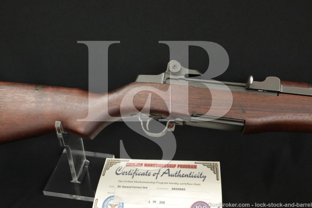 Springfield M1 Garand Matching Parts 30-06 Semi Automatic Rifle 1955-57 C&R