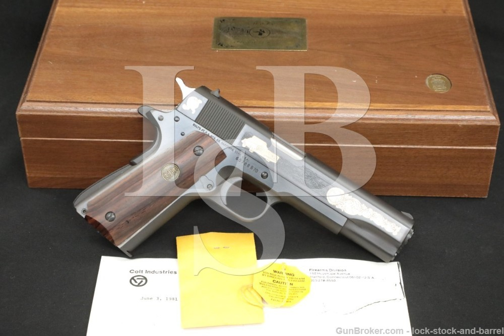 State of Hawaii Organization of Police Officers SHOPO Colt 1911, MFD 1980