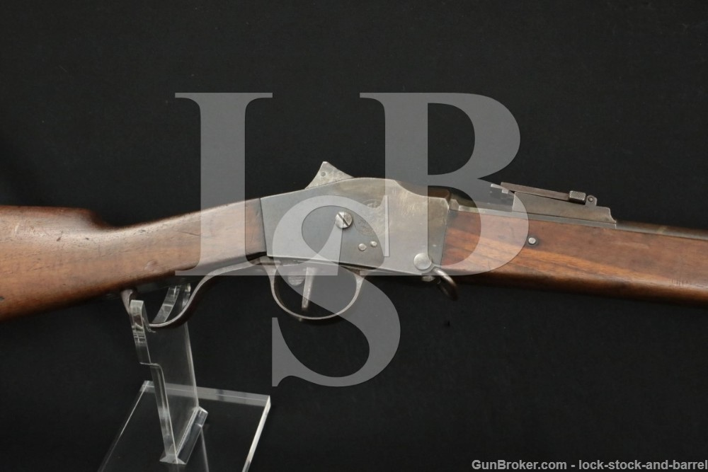 Steyr 1885 Guedes Rifle 8x60R Single Shot Falling Block 1886 Antique