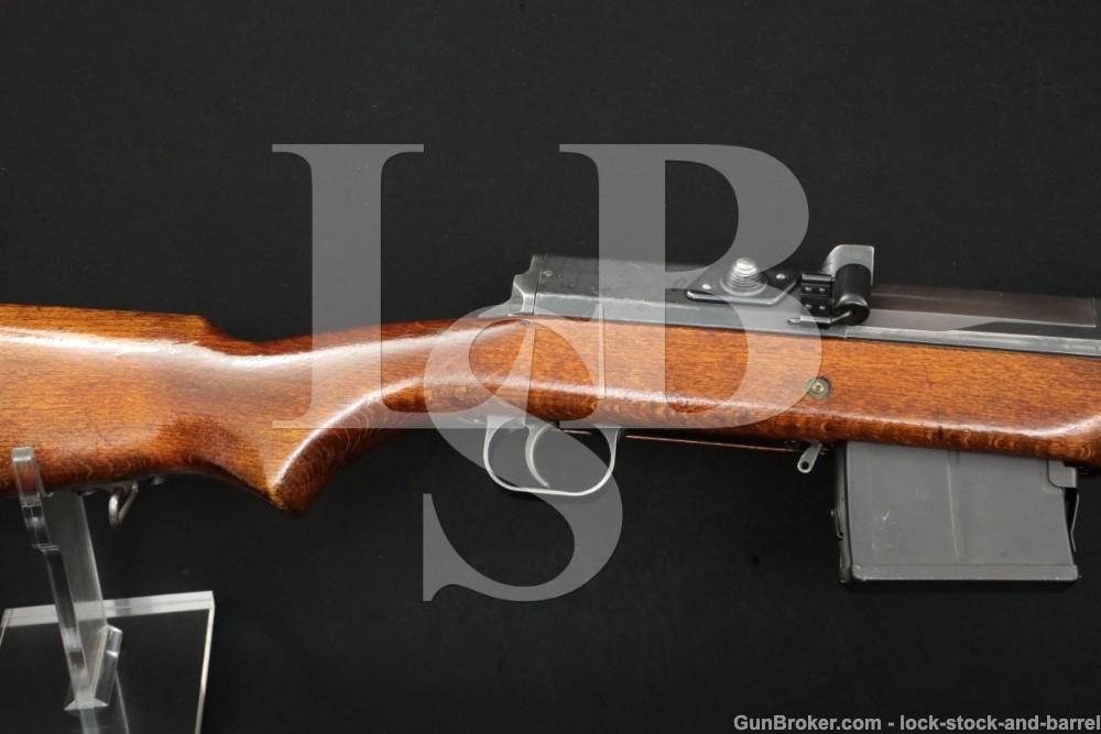 Swedish Ljungman AG-42B 6.5x55 Mag Fed Muzzle Break Semi Auto Rifle C&R