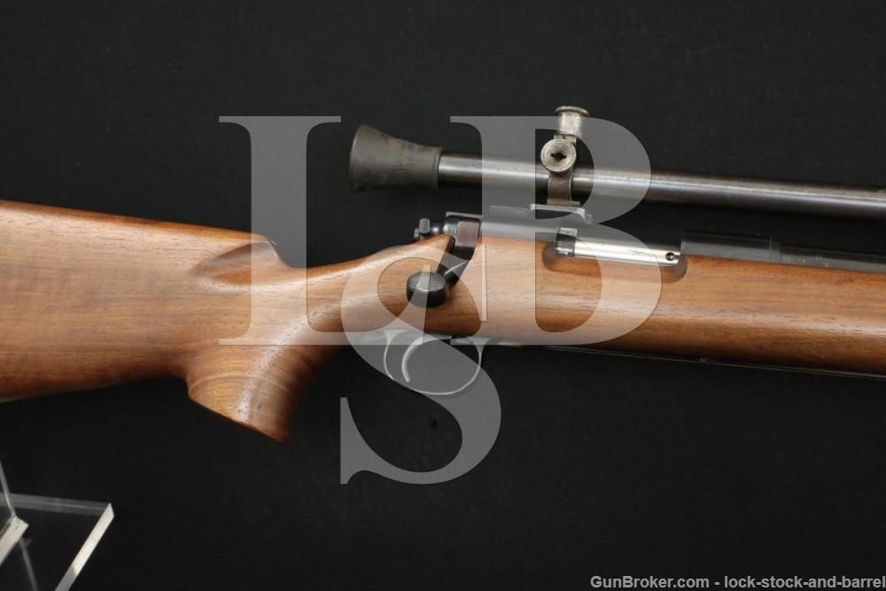 U.S. Property Remington Model 40-XB Rangemaster 40XB .22 LR Rifle 1964 C&R