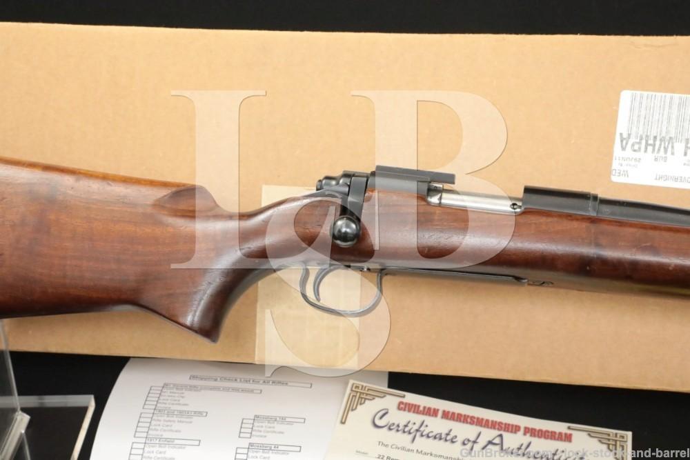 U.S.M.C. Property Remington Model 40-X Rangemaster 40X .22 LR Rifle 1958