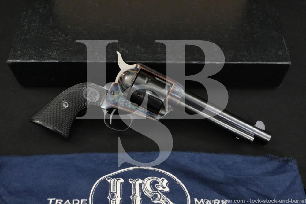 USFA U.S. Firearms USA Single Action Army SAA Blue .38 Special Revolver