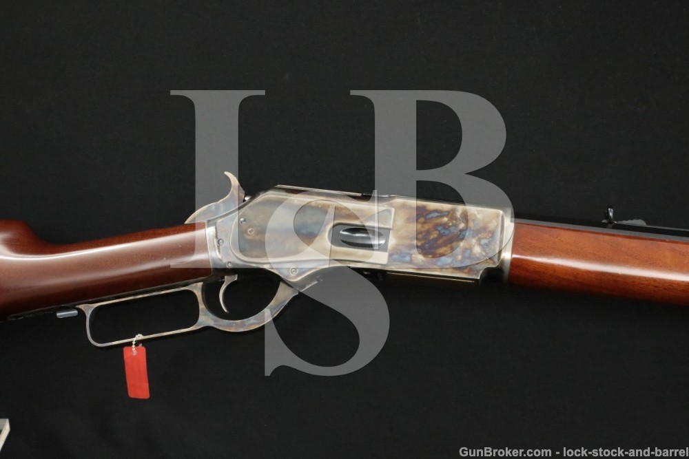 Uberti Cimarron Model 1876 Centennial .45-60 Win. 28″ Lever Action Rifle