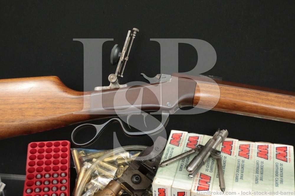 W.S. Van Horne Custom Ballard 40-50 SS 30″ Octagonal Single Shot Rifle