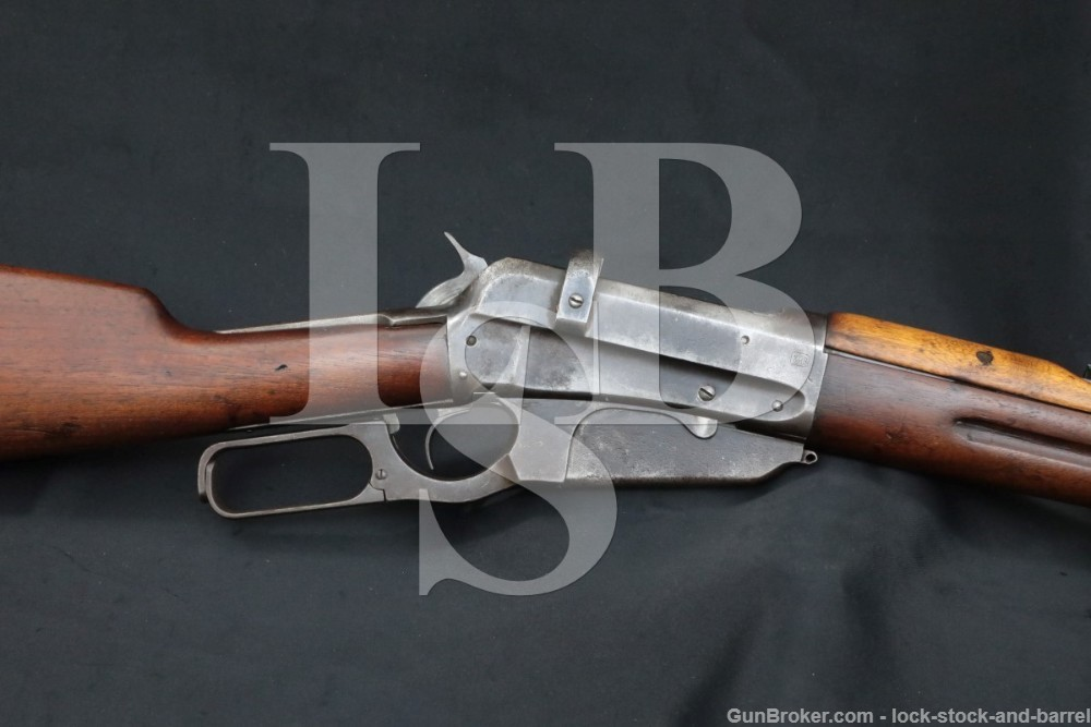 WWI Winchester 1895 Musket Russian Contract 7.62x54R Lever Rifle, 1915 C&R