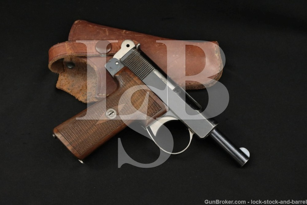 Webley & Scott 1908 Metropolitan Police .32 ACP Semi-Auto Pistol, 1912 C&R