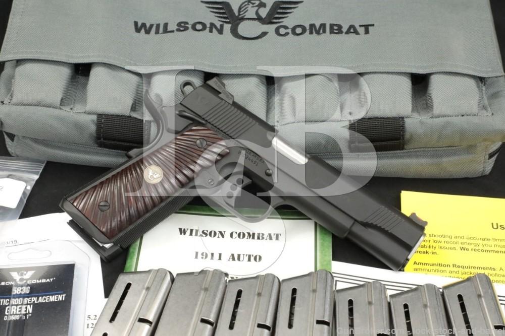 "Wilson Combat Model CQB Elite 9mm 5"" 1911-A1 1911 Semi-Auto Pistol MFD 2019"