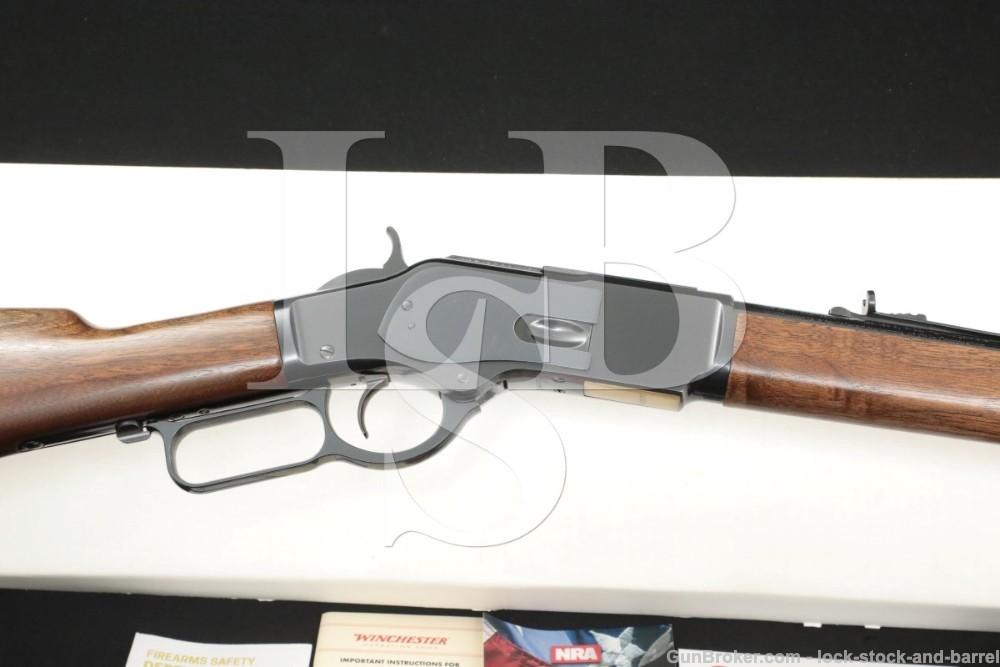 Winchester Miroku Model 1873 .357 Mag/.38 Spl. 20″ Lever Rifle, MFD 2020